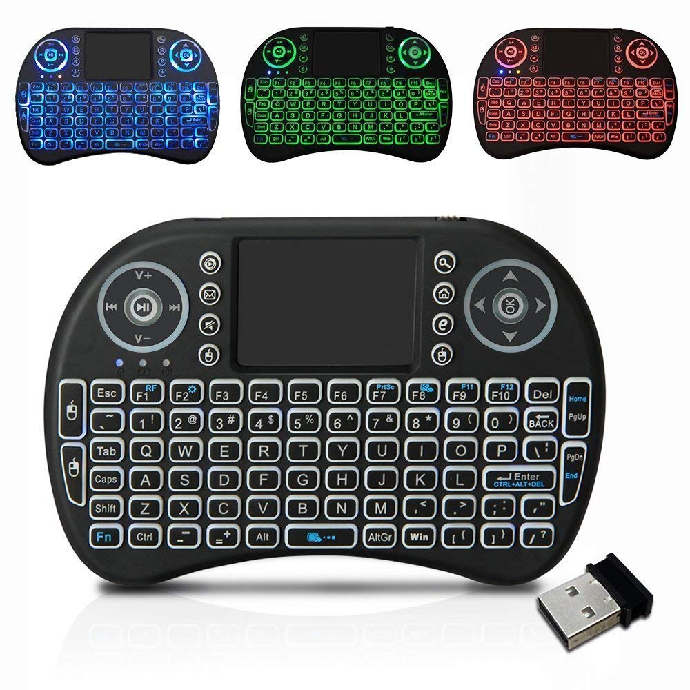 mini wireless keyboard 2 4 ghz touchpad cablecast. Black Bedroom Furniture Sets. Home Design Ideas